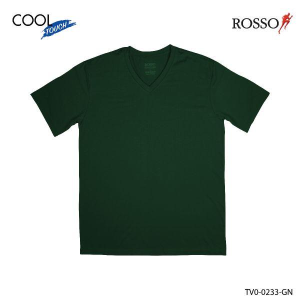 ROSSO เสื้อคอวี COOL Touch รุ่น TV0-0233 (1 ชิ้นต่อแพ็ค)