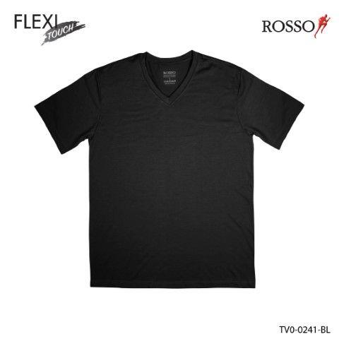 ROSSO เสื้อคอวี Cotton Spandex รุ่น TV0-0241 (1 ชิ้นต่อแพ็ค)