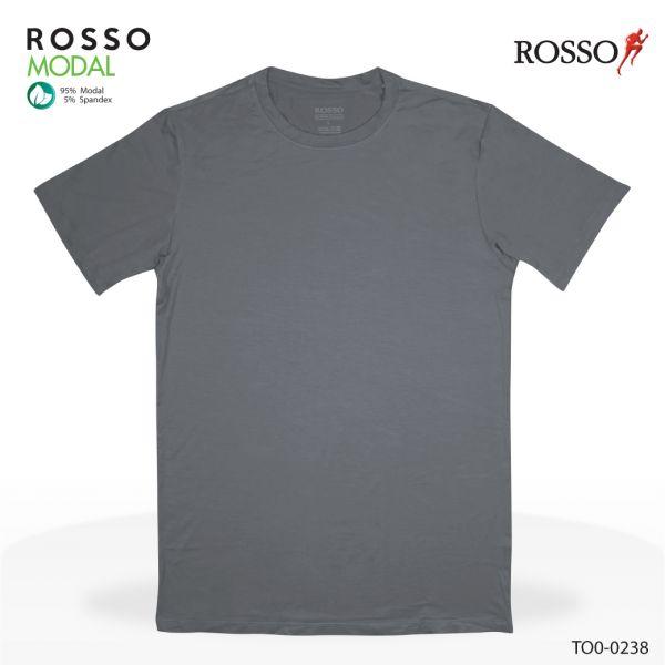 ROSSO เสื้อคอกลม ผ้า MODAL รุ่น TO0-0238