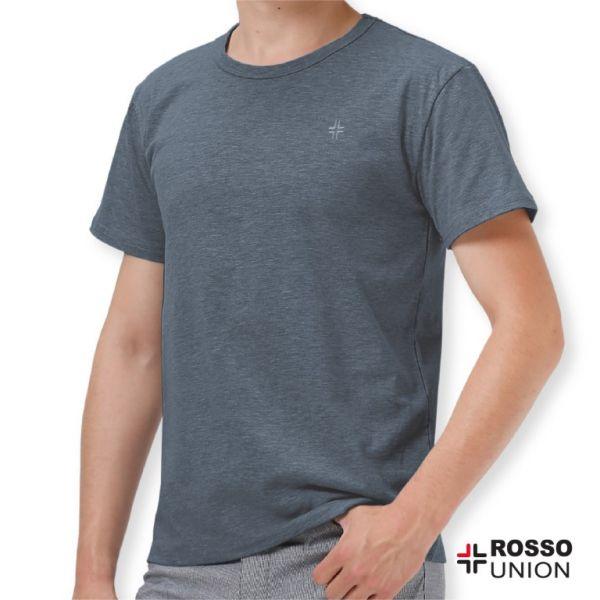 ROSSO เสื้อคอกลม Part Dyed TO1-1071 (1ชิ้น/แพค)