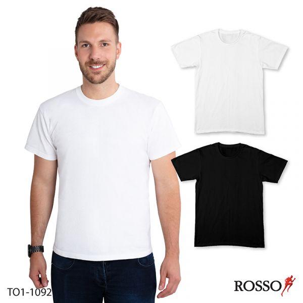 ROSSO เสื้อคอกลมแขนสั้น ผ้า Cool XTO1-1092