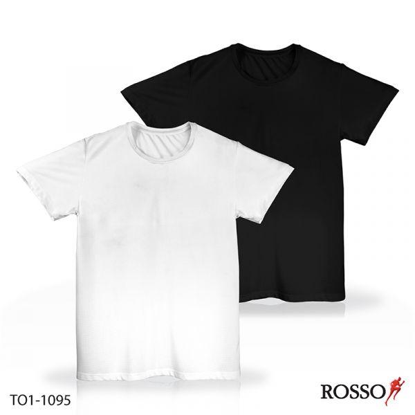 ROSSO เสื้อคอกลมแขนสั้น ผ้า Mesh TO1-1095