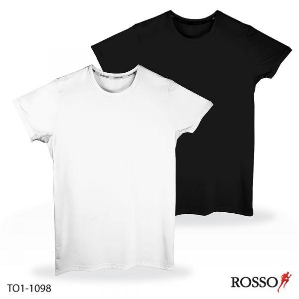 ROSSO เสื้อคอกลมแขนสั้น-ผ้าCool X+Mesh TO1-1098