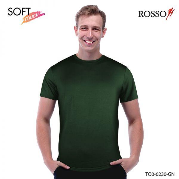 ROSSO เสื้อคอกลม ผ้า Compact siro TO0-0230