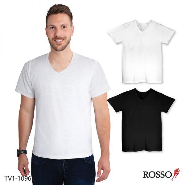 ROSSO เสื้อคอกลมแขนสั้น-ผ้า Cool X+Mesh TV1-1096